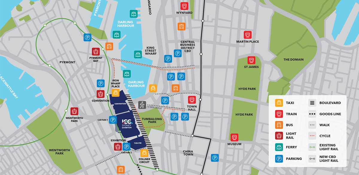 Plan Your Visit – Sydney International Boat Show Sydney Hotel Map on